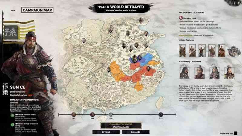 A World Betrayed announced for Total War: Three Kingdoms