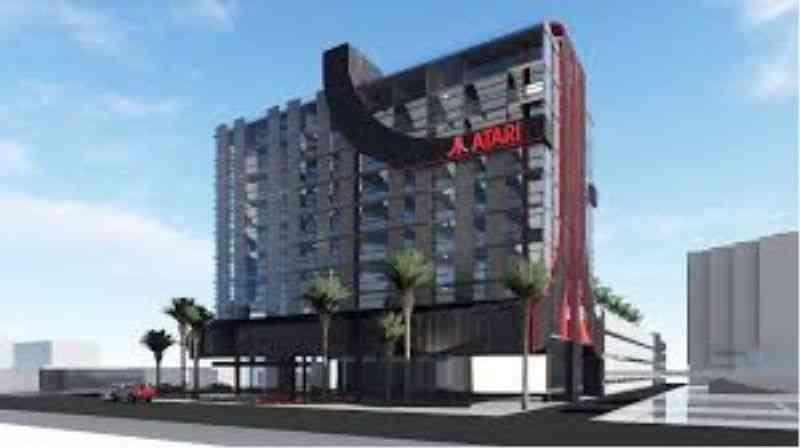 Atari builds Video Game-Themed Hotel in Phoenix-Arizona-USA