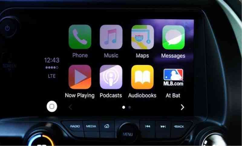 CarPlay in New IOS 14