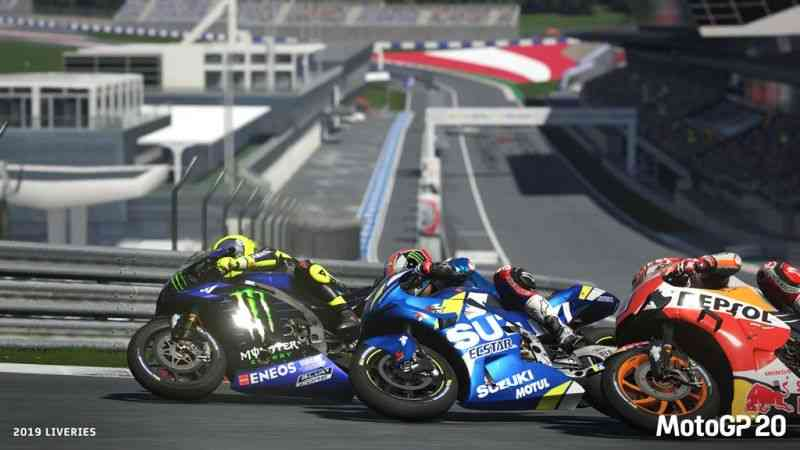 MotoGP 20 shows its first gameplay video