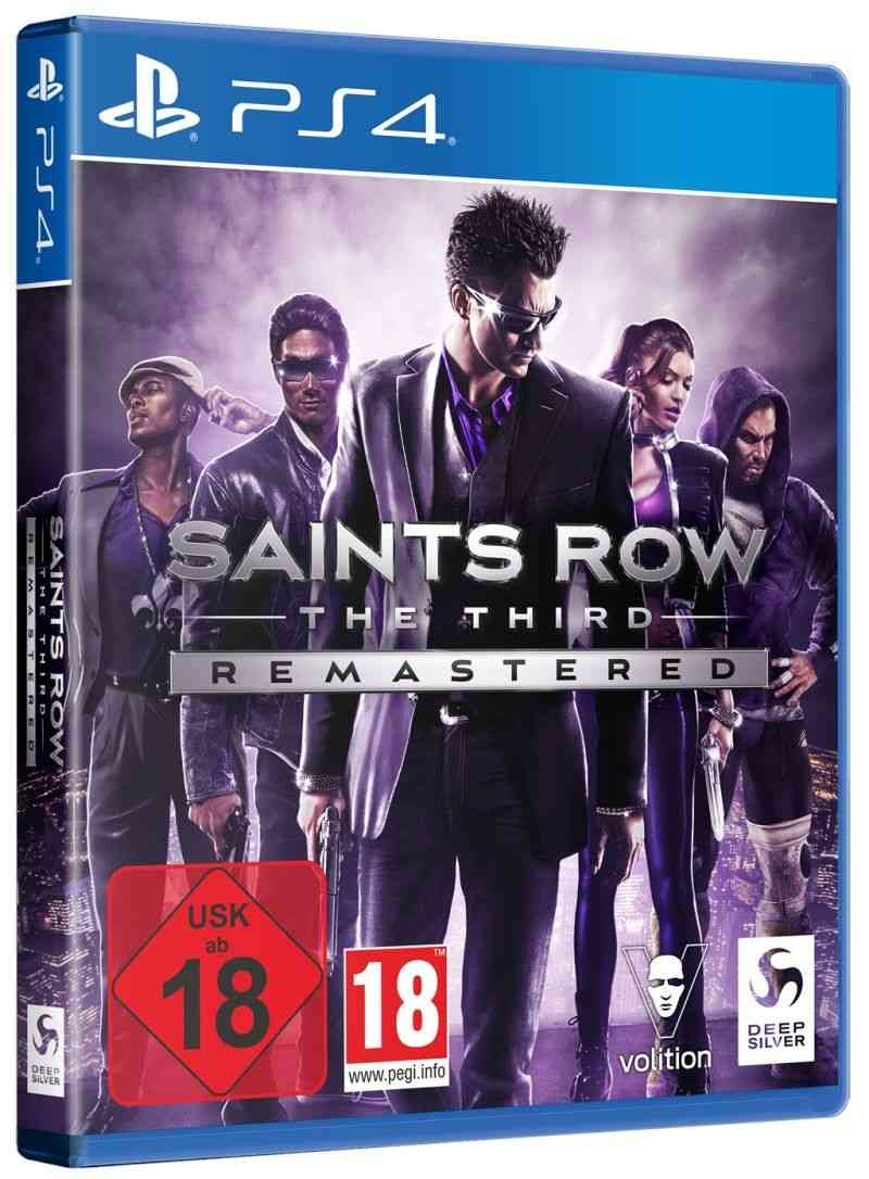 Saints Row The Third - Remastered box images