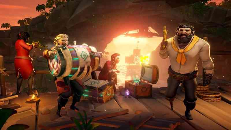 Sea of Thieves Free Heart of Fire Update Adds Tall Tale and New Weaponry