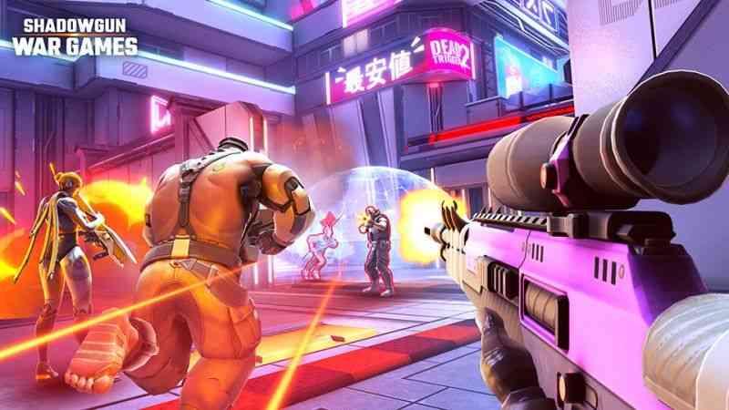 Shadowgun War Games Now Available Worldwide