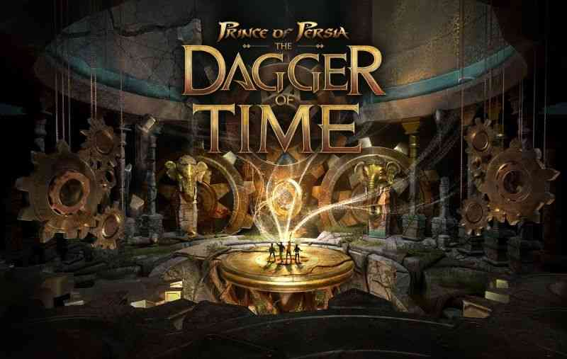 The Dagger Of Time is the Prince Of Persia game