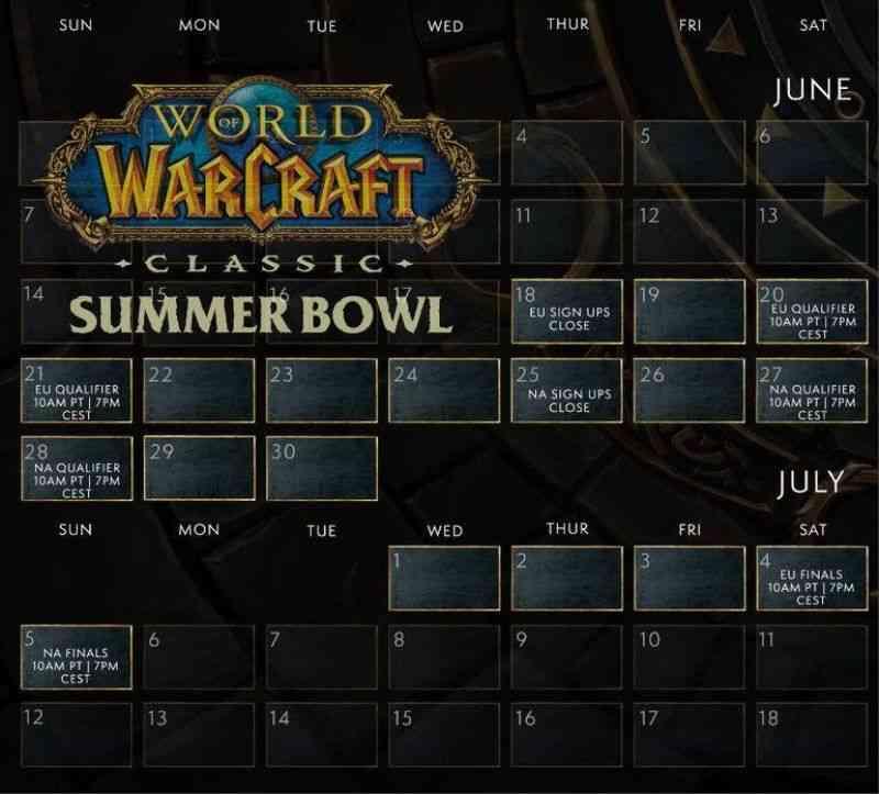 World of Warcraft: Classic Enters E-Sports