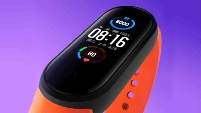 Xiaomi Mi Band 5 Attracts Sports Lovers